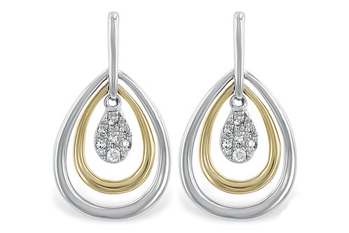 14kt Two-Tone Yellow & White Gold With Diamonds