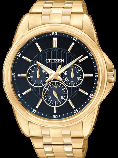 Men's Citizen Quartz Gold-Tone