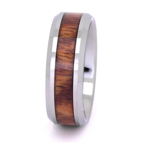Jack Daniels Tennessee Whiskey Barrel & Tungsten Carbide Wedding Band
