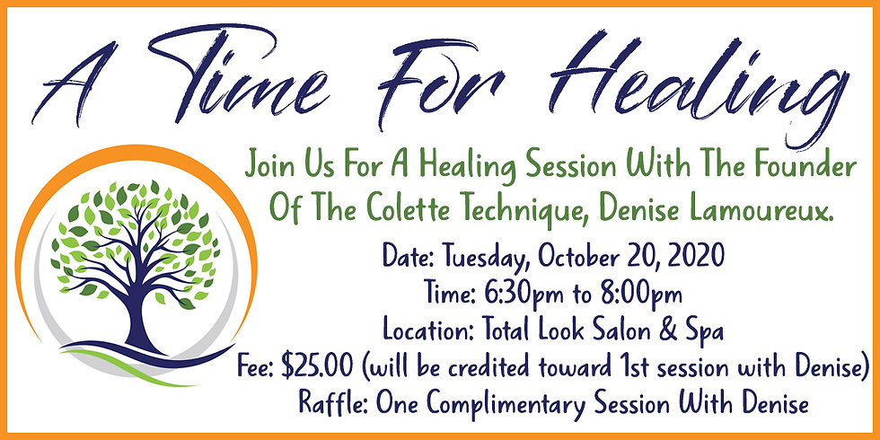 A Time For Healing Ticket
