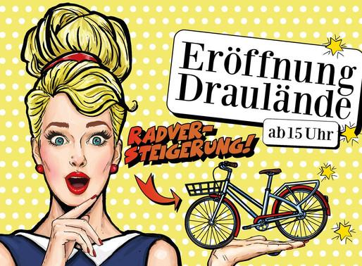 Bei Draulände-Eröffnung gleich ein Rad ersteigern