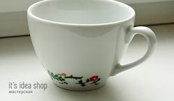 чашка, подарок, ручная роспись