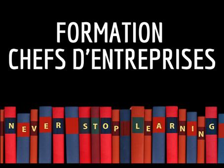 LES DISPOSITIFS FORMATION A DESTINATION DES CHEFS D'ENTREPRISES🧐