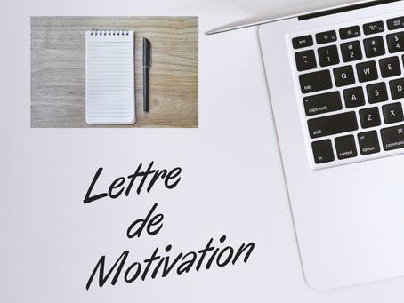 LES RÈGLES D'OR D'UNE LETTRE DE MOTIVATION 📜