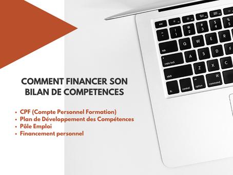COMMENT FINANCER VOTRE BILAN DE COMPETENCES 💶