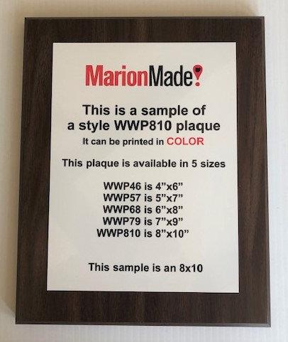 Classic Full Color Plaque