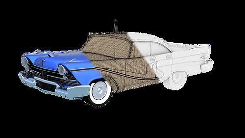 SketchFab - Garys Car