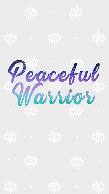 Wallpaper peaceful warrior