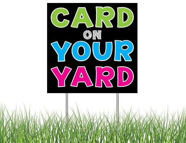 Card ON YOUR Yard Bethesda Logo