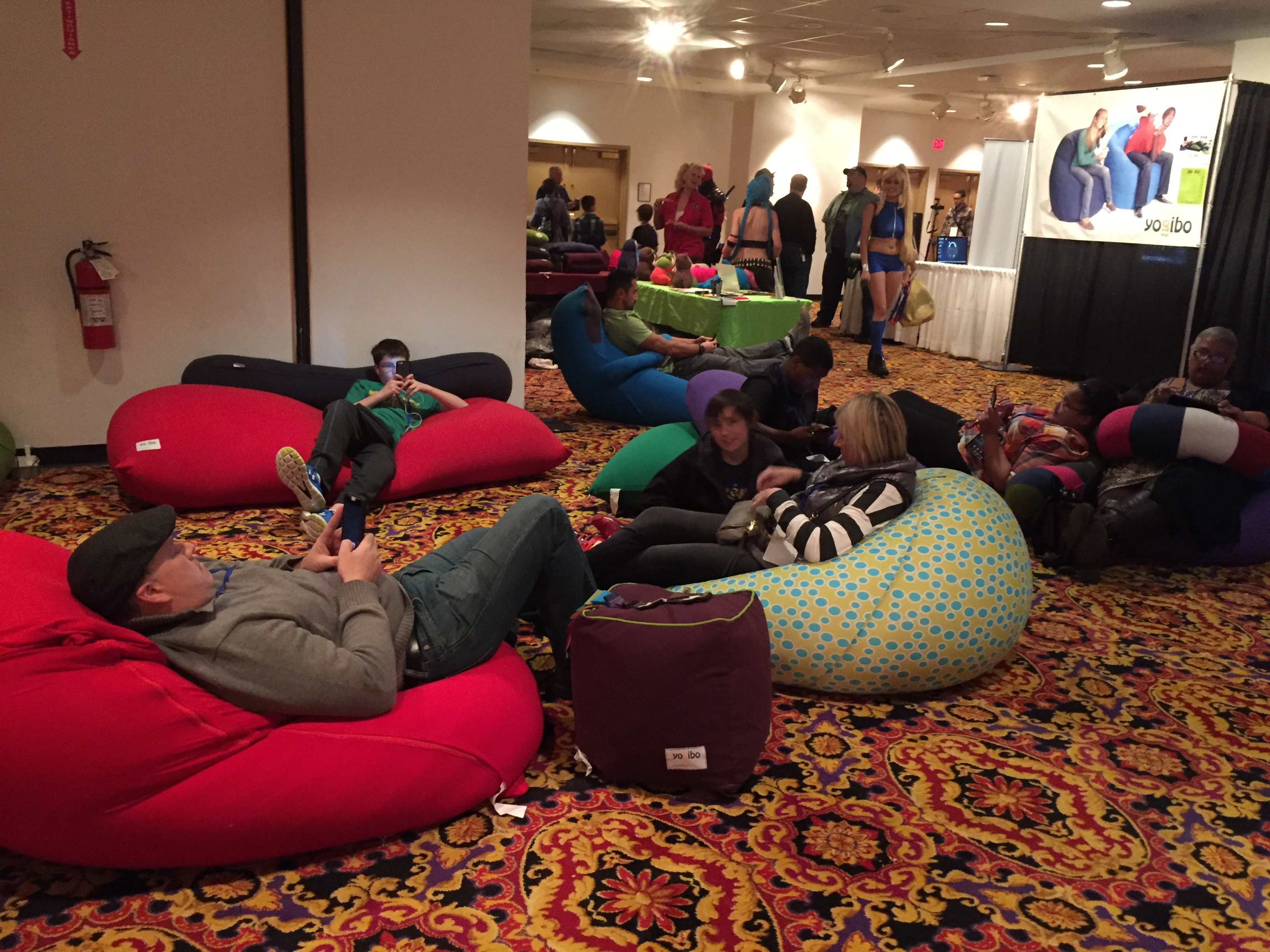 Bean bag lounge