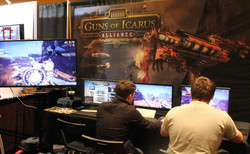 guns of icarus booth