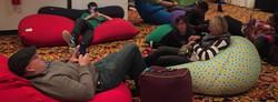 Bean bag lounge