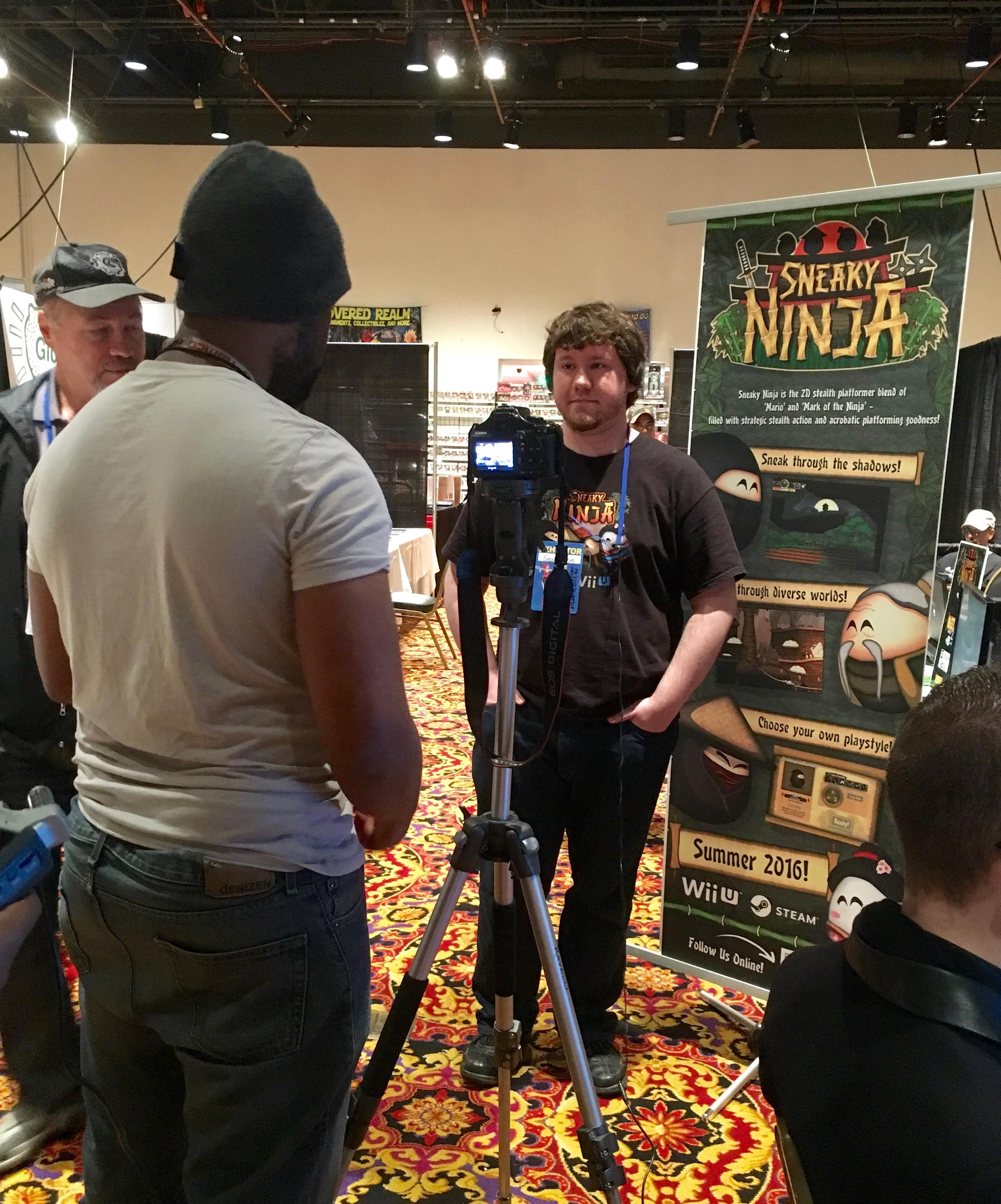 press sneaky ninja