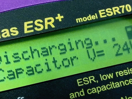 Cómo usar un medidor ESR - Cómo checar/testear capacitores In/out -circuit. Aprende a verificar ...