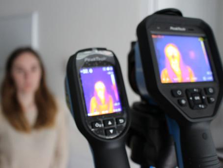 ¿Se puede detectar fiebre con una cámara térmica? ¿Qué prestaciones mínimas se requieren?