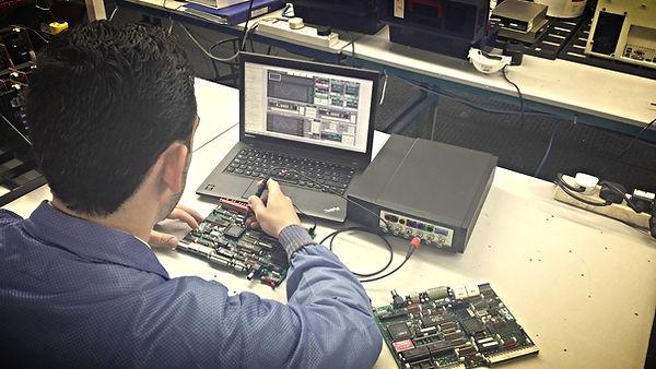 Reparación de una PCB