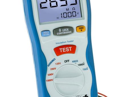 ¿Para qué sirve un medidor de aislamiento o megóhmetro? ¿Cómo se usa un medidor de aislamiento?