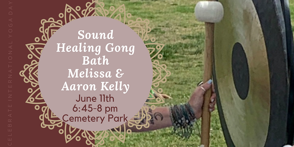 Sound Healing & Gong Bath with Melissa and Aaron Kelly