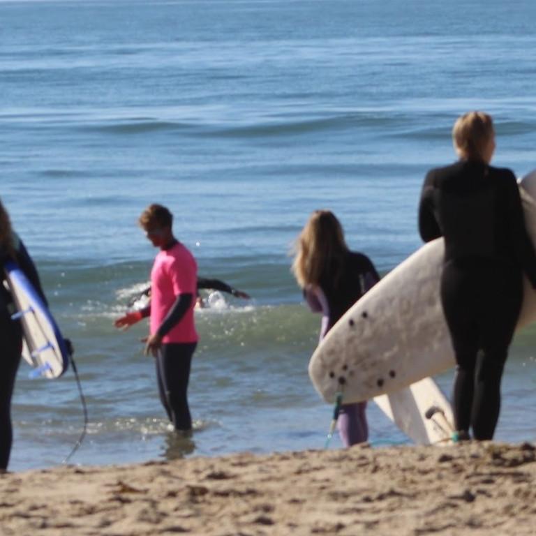 JUNE:: Yoga + Surf 1/2 Day Retreat