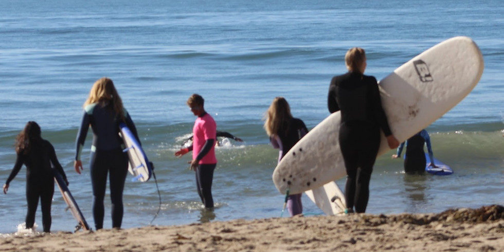 July :: Yoga + Surf 1/2 Day Retreat
