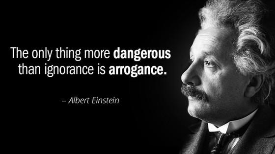 On Arrogance