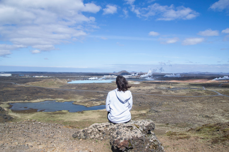 Geo thermal area