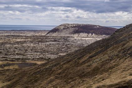 Saxhóll Crater