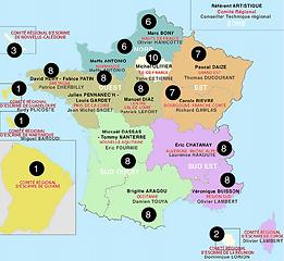 Carte Quotas Régions