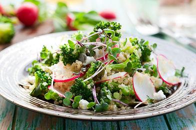 Quinoa salad with micro-leaves.jpg