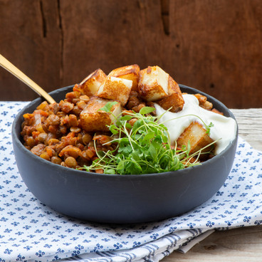 Tofu bowl - Micro-leaves