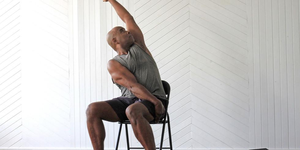 CHAIR YOGA :- Workshop Basics With Donald Shakes