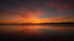Autumn sunrise W
