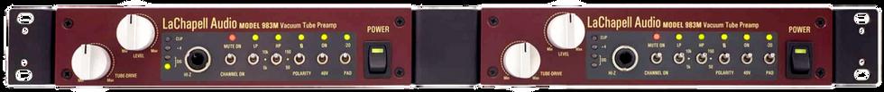 Dual 983M with rack kit