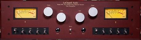 LaChapell 992EG front panel