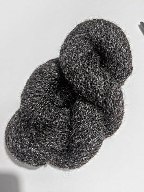 Dark Silver Gray Alpaca w/Starbright
