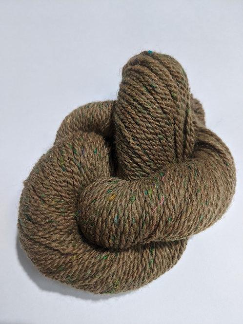 Medium Fawn Alpaca w/Sari Silk