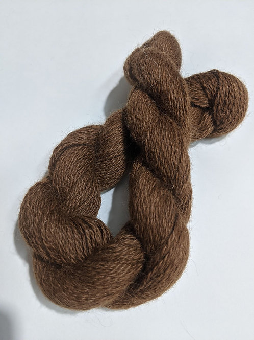 Light Brown 100% Suri Alpaca