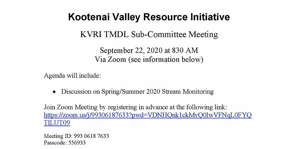 TMDL Sub-Committee Meeting