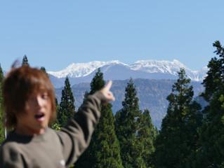 山に向けたキャンプ!