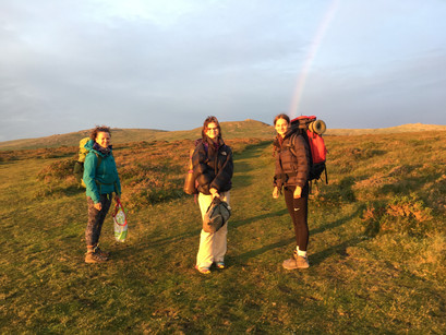 WILD CAMPING - with teenagers!