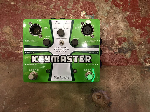 Pigtronix Keymaster True Bypass FX Loop
