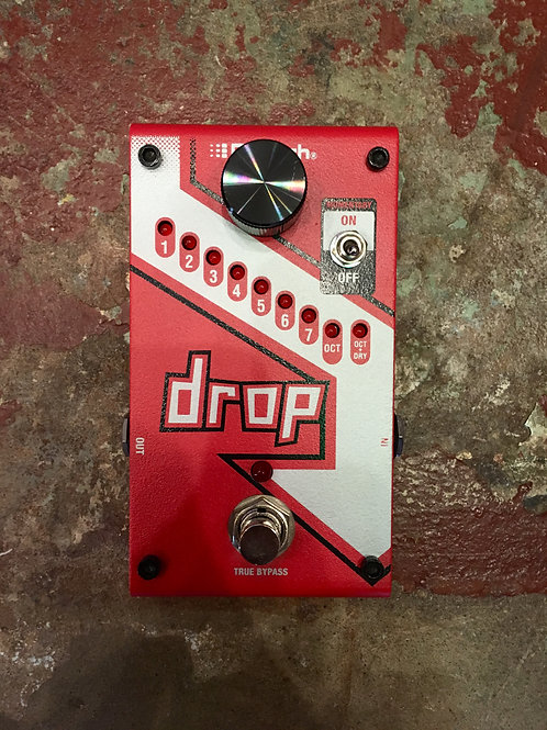 The Drop by DigiTech (Polyphonic Drop Tune Pedal)