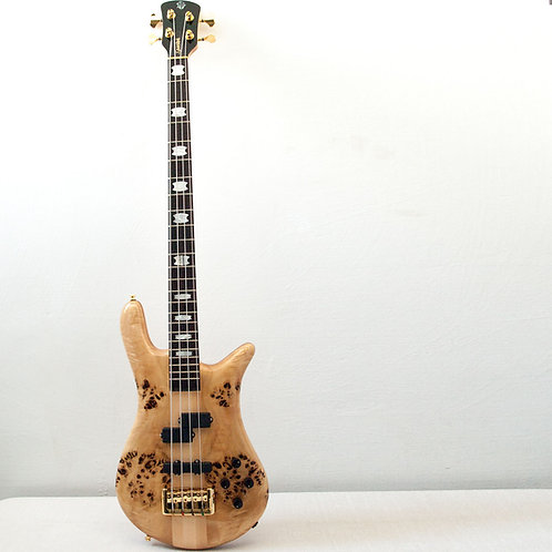 Spector Euro Poplar Burl 4 String Bass
