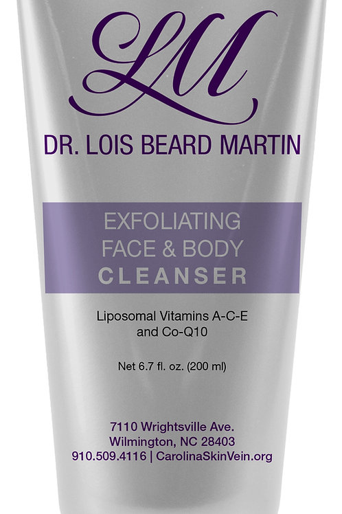Exfoliating Face & Body Cleanser