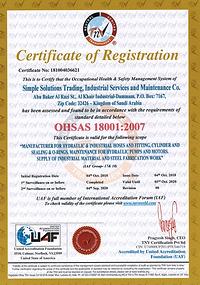 1SURV19- Certificate 18k- Simple Solutio