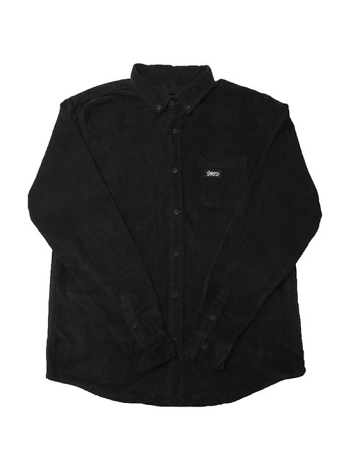 Corduroy Shirt Black