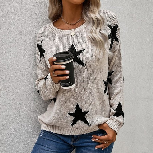 black stars sweater