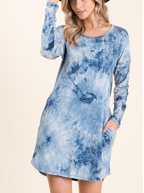 blues dress