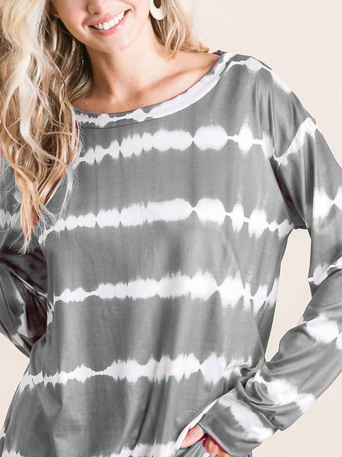 ice gray tunic