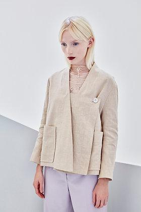 Lotus Jacket Linen
